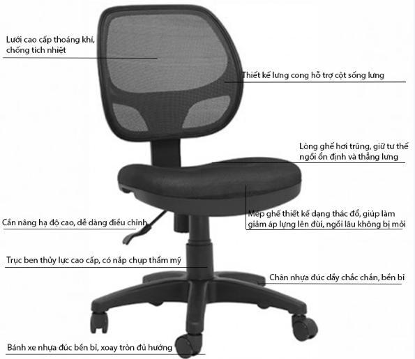 Mua ghế xoay giá rẻ tại Hà Nội chất lượng cao và ưu đãi tốt