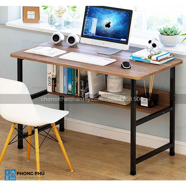Bàn làm việc chân sắt - Xu hướng mới cho văn phòng hiện đại