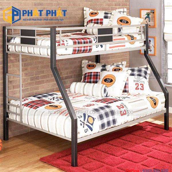 Mãn nhãn với những mẫu giường tầng sắt đẹp hiện đại - 1